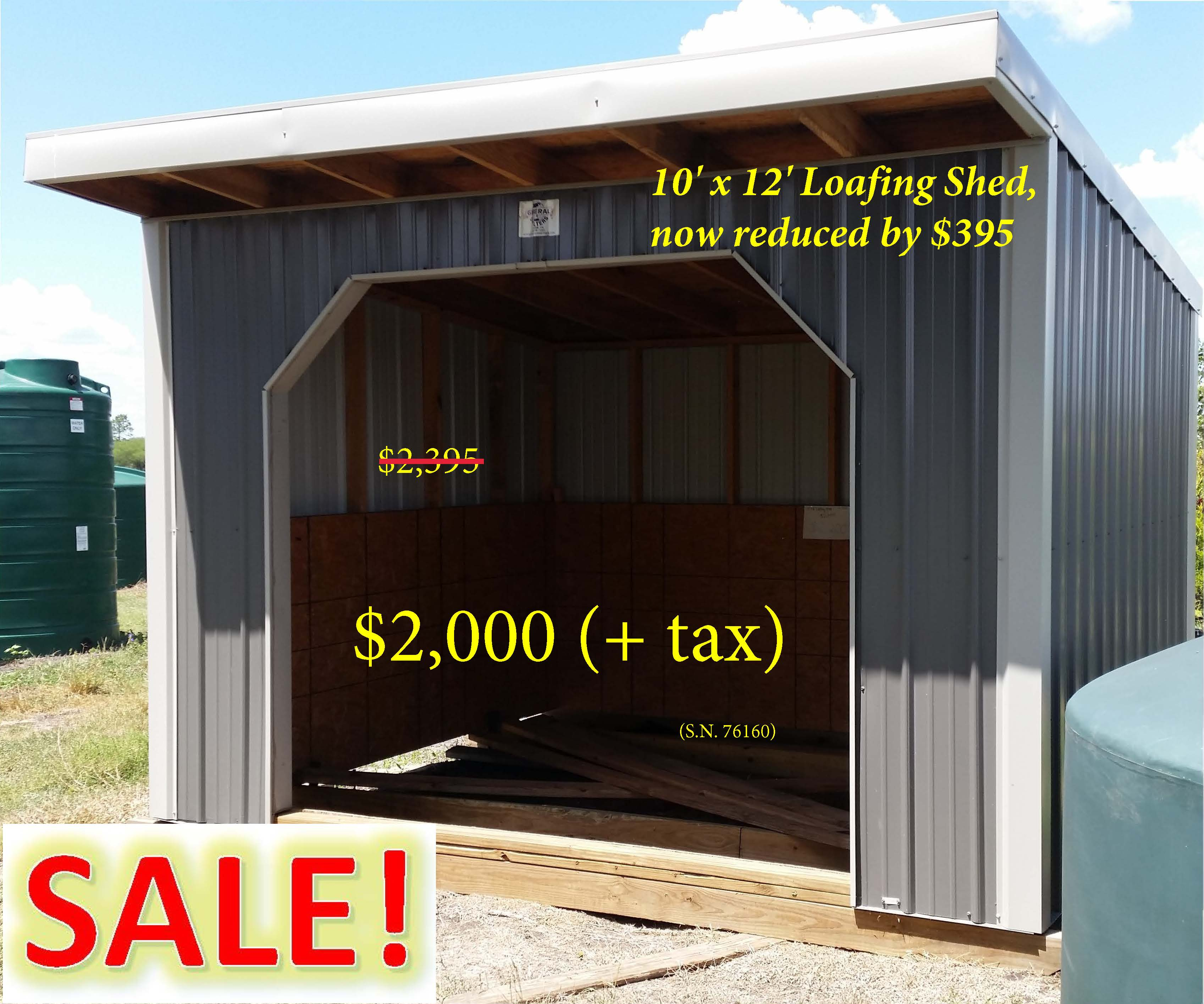 In Stock Buildings At Discount Trees Of Brenham And
